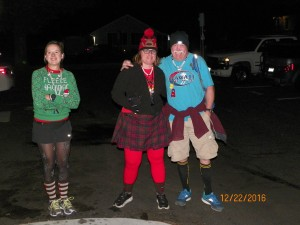 Some of the evenings festive wankers