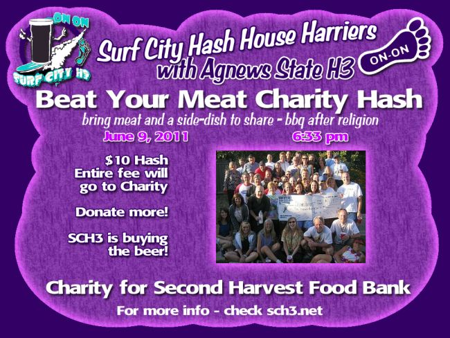 Beat Your Meat Charity Hash